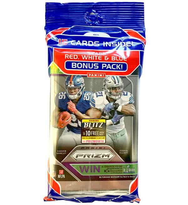 Panini 2018 Prizm NFL Football Cards - Bonus Pack