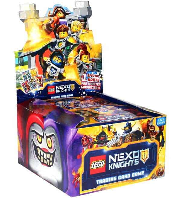 LEGO Nexo Knights Trading Cards Serie 1 - Display mit 50 Boostern