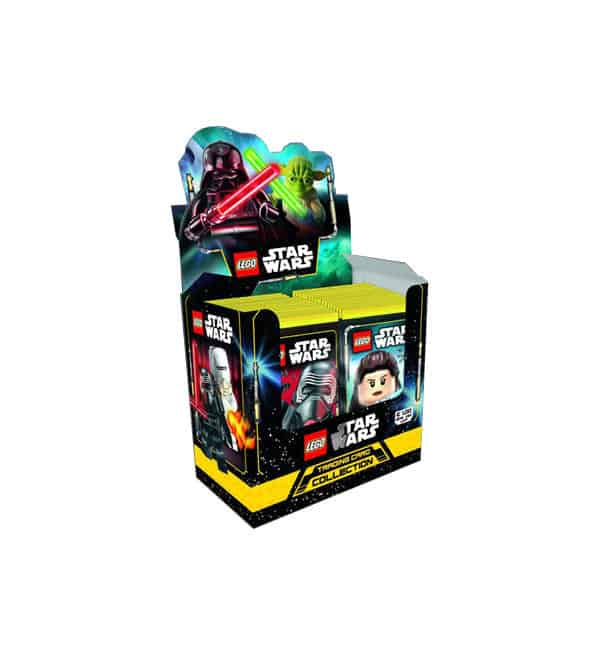 Lego Star Wars Serie 1 Trading Cards - Display