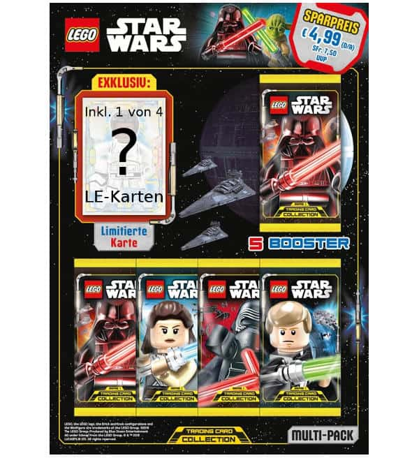 Lego Star Wars Serie 1 Trading Cards - Multi-Pack