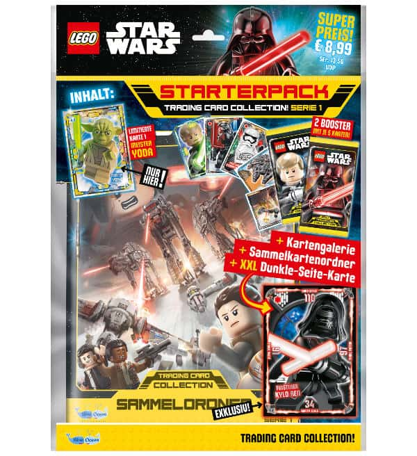 Lego Star Wars Serie 1 Trading Cards - Starterpack