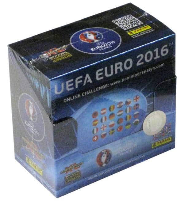 Panini Adrenalyn XL EURO 2016 Box