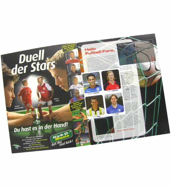 Panini Fussball 2006-2007 Album Gratis-Sticker