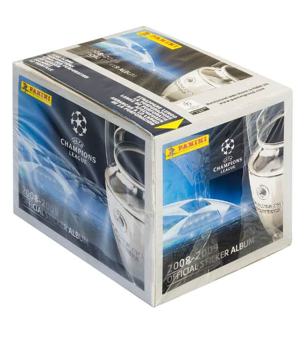 Panini Champions League 2008-2009 Display vorne