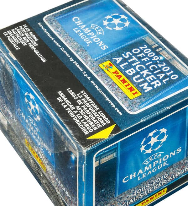 Panini Champions League 2009-2010 Display - Box oben