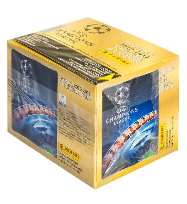 Panini Champions League 2010-2011 Display Gelb - Box Front