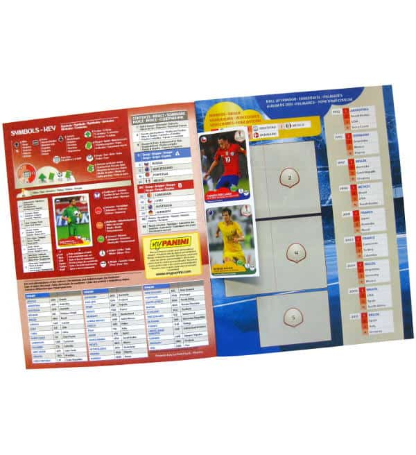 Panini Confederations Cup 2017 Album - Gratis Sticker
