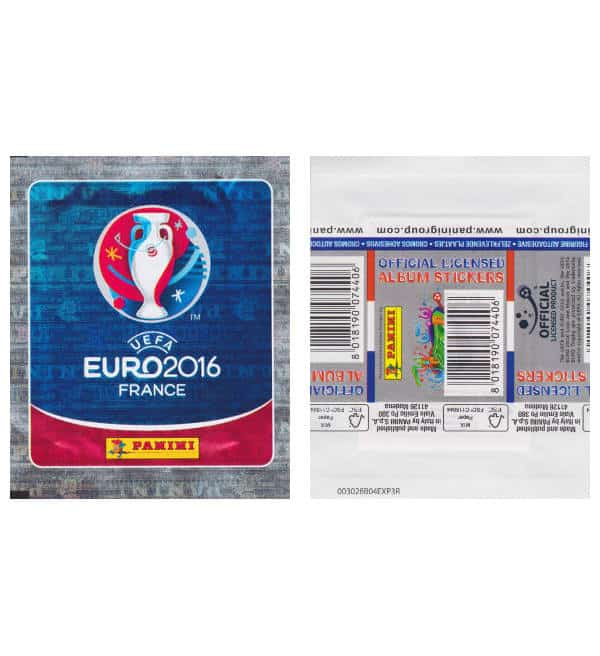 Panini EURO 2016 Stickertüte International