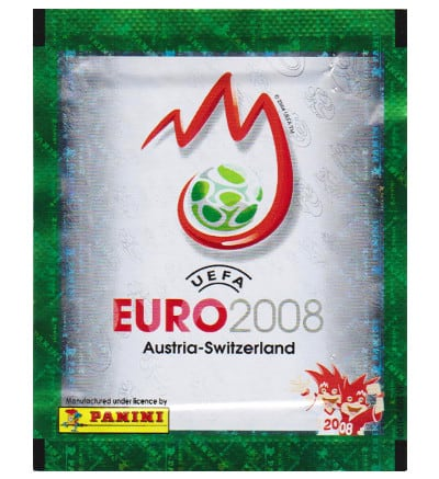 Panini Euro 2008 Tüte - Rote Version