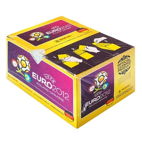 Panini Euro 2012 Sticker Display