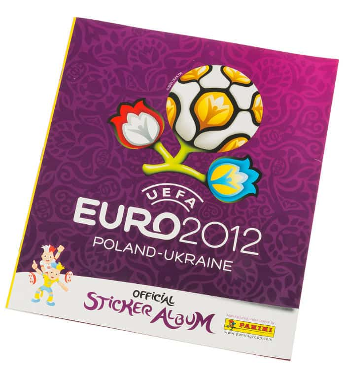 Panini EM Euro 2012 Sammelalbum international Cover