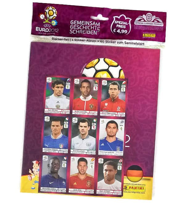 Panini Euro 2012 Sticker Starter-Set