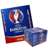 Panini EURO 2016 Sticker - 1 Album + 1 Display