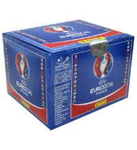 Panini EURO 2016 Sticker - Display mit 100 Tüten