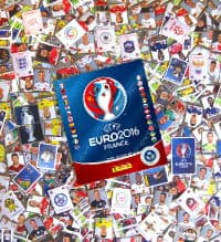 Panini EURO 2016 Star Edition Schweiz - alle Sticker + Album