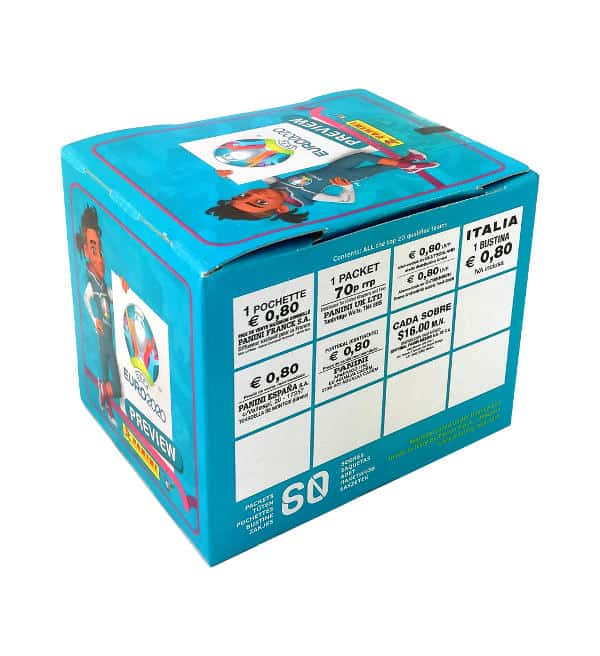 Panini EURO 2020 Preview Sticker - 60er Box Preis