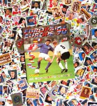 Panini Euro 96 Set - alle 354 Sticker + Album