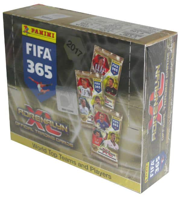 Panini FIFA 365 2017 Adrenalyn XL Box mit 24 Boostern