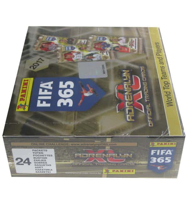 Panini FIFA 365 2017 Adrenalyn XL Display Seitenansicht