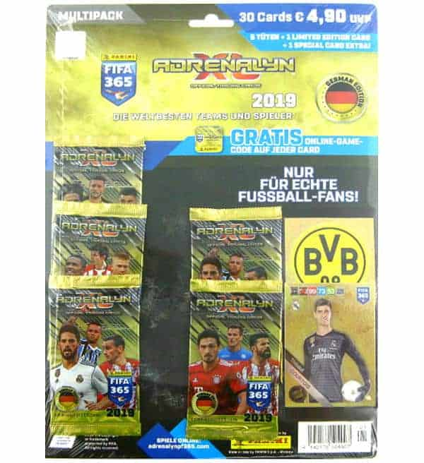 Panini FIFA 365 2019 Adrenalyn XL Multi Pack Thibaut Courtois LE