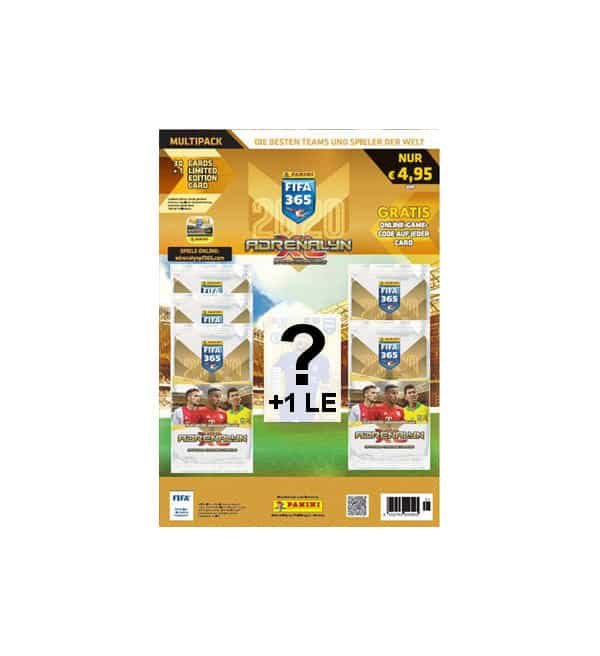 Panini FIFA 365 2020 Adrenalyn XL Multipack