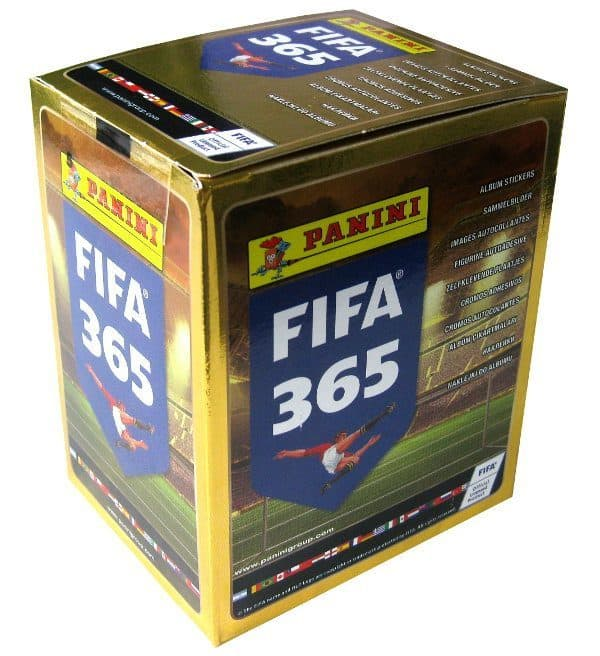 Panini FIFA 365 Display - Box mit 50 Tüten