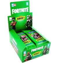Panini Fortnite Trading Cards Serie 1 - Fatpack Display
