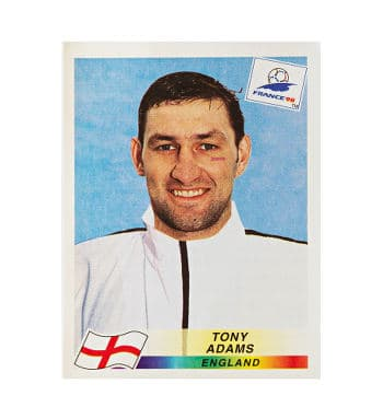 Panini WM France 98 Sticker 467 Tony Adams vorne