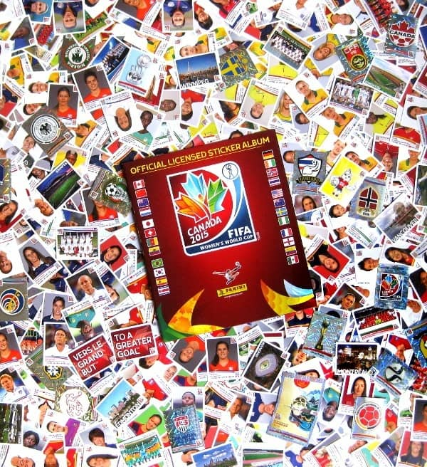 Panini Frauen WM 2015 - Alle Sticker + Album