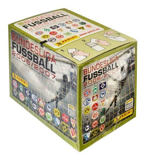 Panini Fussball 2006-2007 Box Display vorne