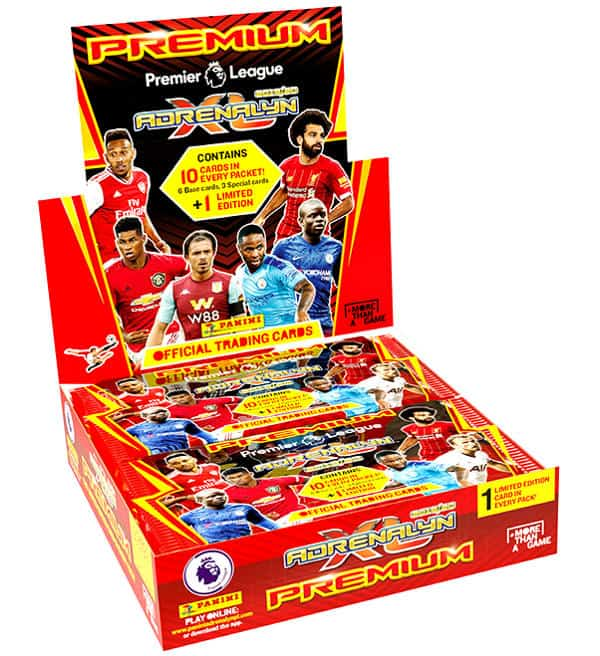 Panini Premier League 2019-2020 Adrenalyn XL Premium Display
