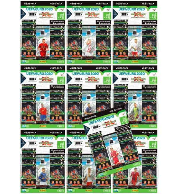 Panini Road to Euro 2020 Adrenalyn XL - Alle 10 Multipack