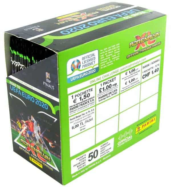 Panini Road to Euro 2020 Adrenalyn XL Display Preis