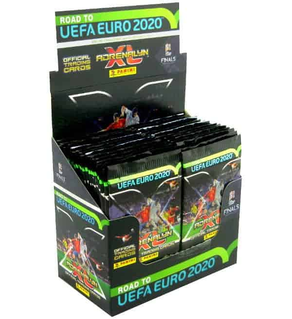 Panini Road to Euro 2020 Adrenalyn XL Display
