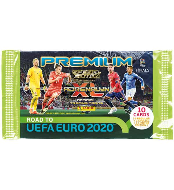 Panini Road to Euro 2020 Adrenalyn XL Premium Booster