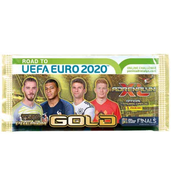 Panini Road to Euro 2020 Adrenalyn XL Premium GOLD Booster