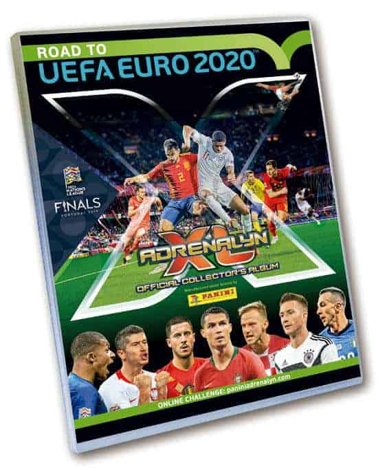 Panini Road to 2020 Adrenalyn XL - Sammelmappe