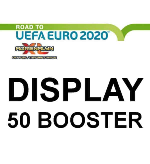 Panini Road to Euro 2020 Adrenalyn XL Display - 50 Tüten