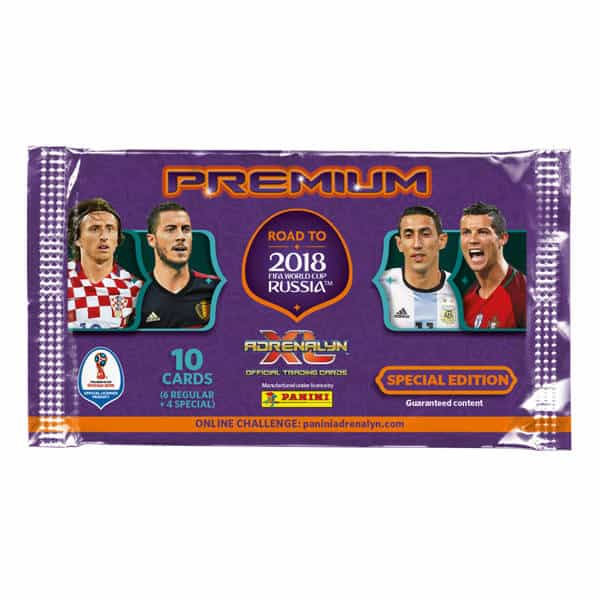 Panini Road to World Cup 2018 Adrenalyn XL Premium Tüte