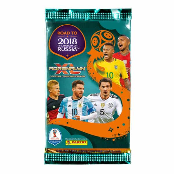 Panini Road to World Cup 2018 Adrenalyn XL Tüte