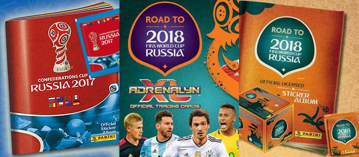 Panini Road to World Cup 2018 - Confederations Cup 2017