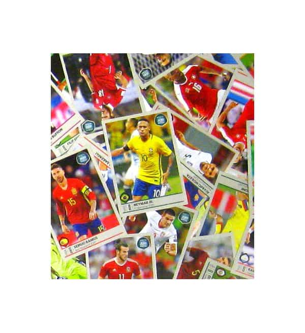 Panini Road to World Cup 2018 Stickersatz