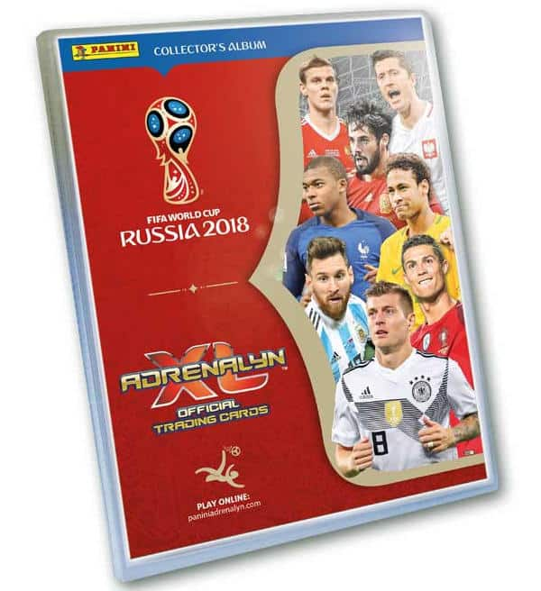 Panini WM 2018 Adrenalyn XL Collectors Album