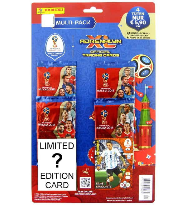 Panini WM 2018 Adrenalyn XL Multi-Pack