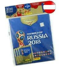 Panini WM 2018 - Hardcover Album Austria
