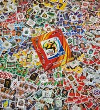 Panini WM 2010 Komplettset - alle Sticker + Album
