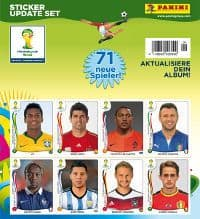 Panini WM Brasil 2014 Update Set - 71 Sticker