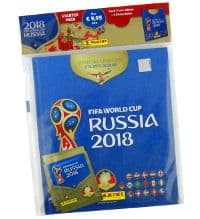 Panini WM 2018 Sticker - Hardcover Starterpack