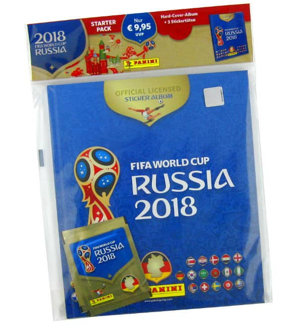 Panini WM 2018 Hardcover Album