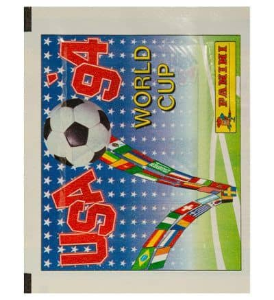 Panini WM 94 Tüte international USA 1994 vorne